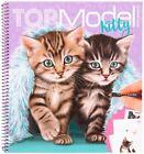 Depesche 11133 Colouring Book Create Your Kitty Top Model