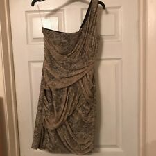 Women's Dress Lipsy Nude With Lining Size 10