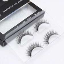 Fashion 3d Faux Mink Natural False Eyelashes Volume Long Lashes Extension Makeup
