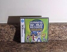 Guinness World Records The Video Game (Nintendo DS, 2008) Guiness Sealed NEW