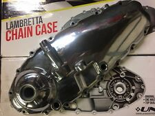 Lambretta Engine Chain Case Cover Polished GP AF UniAuto