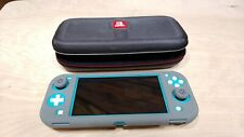 Nintendo Switch Lite - Turquoise (CONSOLE + Case +128GB SD CARD Nice!