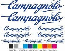 Campagnolo Bike Bicycle Frame Decals Stickers Graphic Adhesive Set Vinyl
