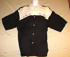 NATURAL ISSUE Men's 3XL Hawaiian Camp Shirt Black & Tan 54% Rayon, 46% Polyester