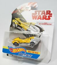 Hot Wheels Star Wars Carships Naboo N-1 Starfighter Great for Tracks NEW