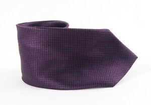 Brioni Men's Purple Silk Tie