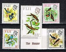 Fiji Fauna Birds set 1976 MLH