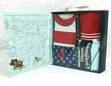 Disney Pirates of the Caribbean 12 MO 4 Piece Layette Baby Set Blanket Hat Short