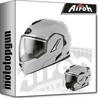 AIROH RE1981 HELM MOTORRAD FLIP UP CONCRETE GRAU MATT REV19 COLOR XS
