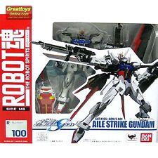Bandai The Robot Spirits Action Figure Aile Strike Gundam Seed RS 100 Genuine