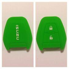 ISUZU DMAX GREEN CAR KEY COVER CASE PROTECTOR SILICONE D-MAX MUX TRUCK UTE 13