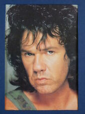 """3.5 x 5"""" clipframe with vintage photo cutting of GARY MOORE"""