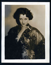 EXQUISITE GERTRUDE OLMSTEAD OVERSIZE DBLWT PHOTO BY LOUISE - 11X14 EX CON - SIL