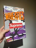NEW SEALED Supreme Wheaties Cereal Box S/S 2021 Purple Camo SHIPS TODAY