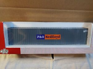 NZG 1:50 P&O NEDllOYD 40' CONTAINER (container only)