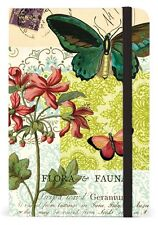 Cavallini Mini Notebook FLORA AND FAUNA  4x6 WITH 256 lined pages NBFF/SM