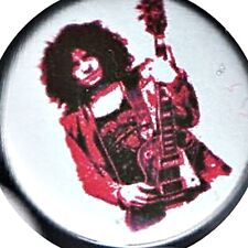"Marc Bolan 1"" Badge 25mm Rock n Roll T Rex Glam Legend Hero metal guru Warrior"