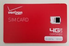 LOT OF 10 Verizon NANO SIM Card 4FF 4G LTE PREPAID OR POSTPAID BRAND NEW