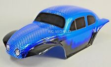 RC 1/10 Truck BODY BAJA Monster BEETLE BUG Rock Crawler 313mm -PAINTED- BLUE