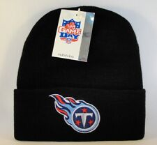 Tennessee Titans NFL Vintage Cuffed Knit Hat Black