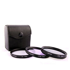 Jackar 67mm UV+CPL+FD Filter Set For Sony Zoom 18-200mm Zeiss APS-C Touit 12mm