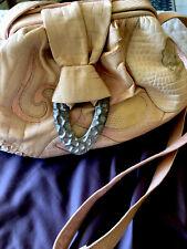 Vintage Sharif Genuine pink  Women's Leather Shoulder/ Body Bag