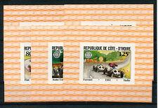 Elfenbeinküste 706/10 postfrisch Einzelblöcke / Autos ....................2/2515