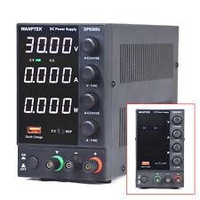 Wanptek 0 30v 0 5a 4 Digital Dc Power Supply Adjustable Switching Usb Charge