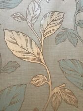 Curtains Pencil Pleat Duck Egg Blue Made to Measure (Dunelm). Nearly new.