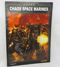 Warhammer 40k Chaos Space Marines  army codex army book oop