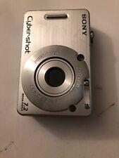 Sony Cyber-shot DSC-W70 7.2MP Digital Camera - Silver, read description