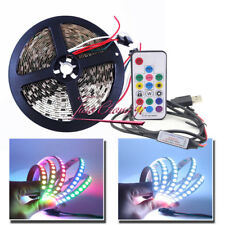WS2812B 5V Addressable RGB Dream Color Flexible Strips with 17kry USB controller