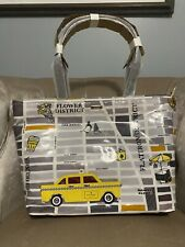 Kate Spade Francis Taxi Tote Shoulder Bag Sequin Wristlet Purse City