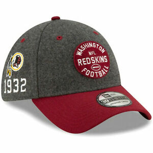 WASHINGTON REDSKINS NEW ERA NFL ONFIELD HOME SIDELINE 39THIRTY FLEX FIT HAT CAP