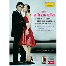 LA TRAVIATA BLU RAY ANNA NETREBKO R. VILLAZON NEW!