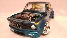 BMW 2002 Turbo CLEAR Body 1/10 scale to fit mst yokomo tamiya lrp hpi