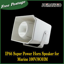 IP66 Super Power Horn Speaker for Marine 100V/8OHM Waterproof