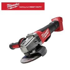"Milwaukee 18 V Li-Ion FUEL Brushless 125 mm (5"") Braking Angle Grinder Tool Only"