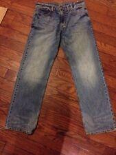 American Eagle Outfitters Slim Straight Jeans, Men's, Medium Bright Indigo 32/34