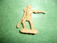 BARZSO RARE INDIAN WORRIER POSE WITH CLUB  AND GUN TRUE 54MM