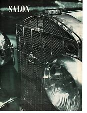 1929 ISOTTA-FRASCHINI MODEL 8 ~ ORIGINAL 5-PAGE 1962 ARTICLE / AD