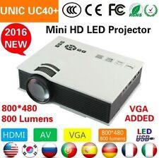 2016 Edition UC40+ mini full hd LED Projector Home Cinema Theater VGA 1080