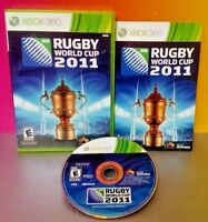 Rugby World Cup 2011 - Microsoft Xbox 360 Rare Game 1-4 Players