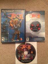 VIDEO GAMES:  PlayStation 2 JAK II 2 PS2 COMPLETE W/ORIGINAL CASE & MANUAL