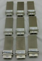 (9) Moduletek MT-X2-10GB-SR Optical Transceiver Modules Cisco Compatible