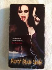 Razor Blade Smile (Prev. Viewed VHS, 1999, Rated Version) Eileen Daly