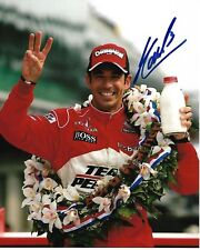 HELIO CASTRONEVES SIGNED 8X10 PHOTO INDY 500 3 TIME WINNER INDIANAPOLIS 2018 B