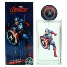 Marvel Avengers Captain America Eau de Toilette 100ml Spray For Children NEW.