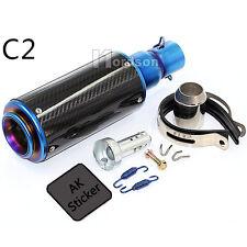 38-51mm Motorcycle Exhaust Pipe Muffler For FZ400 CF250 TTR KTM 990 DUKE New