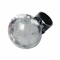 spia luci bianco Accessori per biciclette Fanali posteriore LED per bici Lampada